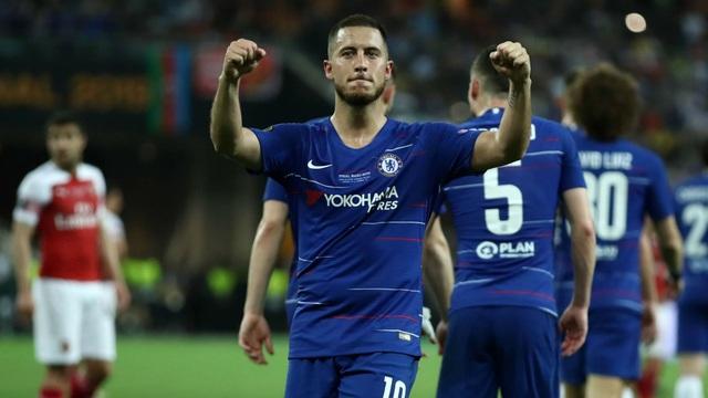 Eden Hazard vô địch Europa League: Dấu chân cuối cùng của người chiến binh - 2