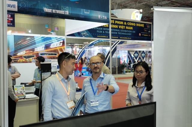 Cập nhật xu hướng phim và công nghệ truyền hình tại triễn lãm Vietnam Telefilm 2019 - 1