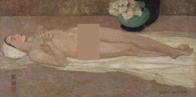 Vì sao tranh khoả thân của hoạ sĩ Lê Phổ lại bán được hơn 44 tỷ đồng? - 1