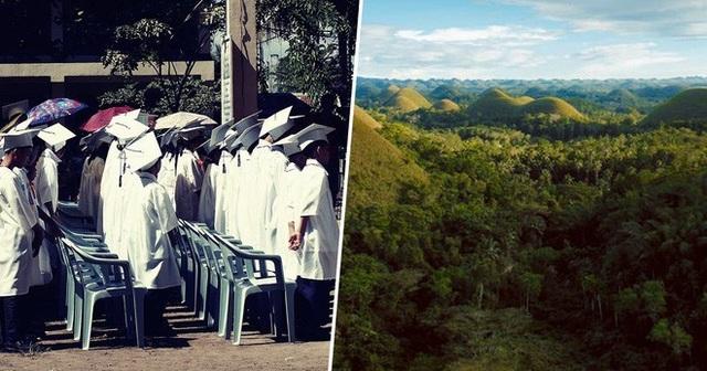 Học sinh, sinh viên Philippines phải trồng 10 cây xanh mới được tốt nghiệp! - 2