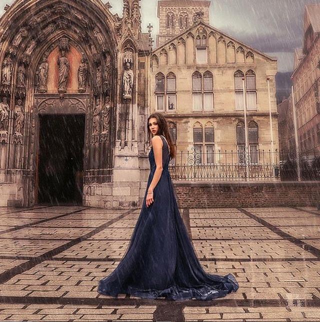 Chiêm ngưỡng vẻ đẹp của nữ sinh khoa Luật kiêm người mẫu nội y - 6