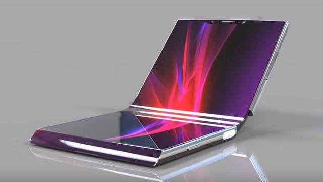 Smartphone màn hình gập đầu tiên của Sony sẽ ra mắt vào năm sau? - 1