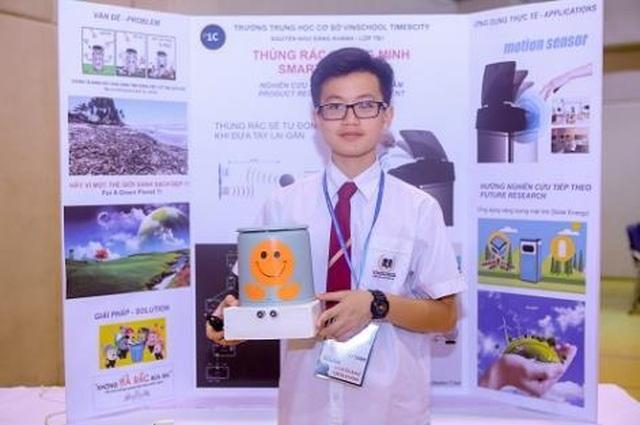 Bất ngờ với các sản phẩm thông minh được chế tạo bởi học sinh cấp 2 - 2