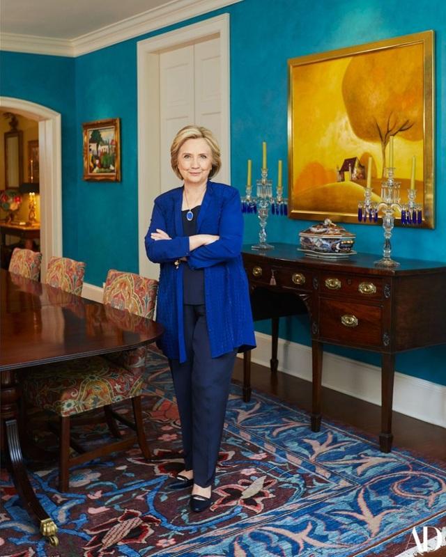 Bên trong chốn thiên đường của gia đình Hillary Clinton ở thủ đô Washington - 11