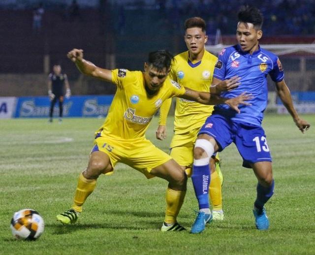 Thua B.Bình Dương, Khánh Hoà rơi trở lại vị trí cuối bảng xếp hạng - 1