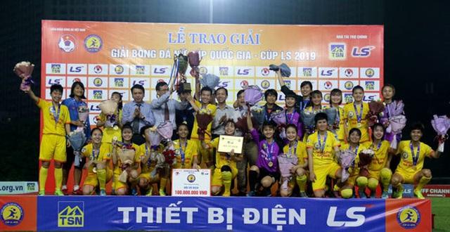 Phong Phú Hà Nam vô địch giải Nữ Cúp Quốc gia – Cúp LS 2019 - 2