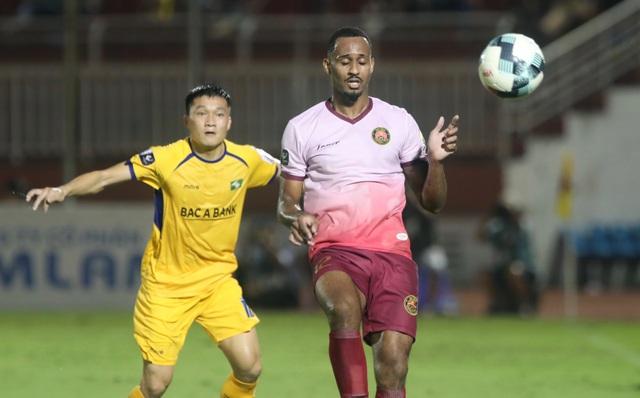 Sài Gòn FC hoà SL Nghệ An sau màn rượt đuổi tỷ số - 3