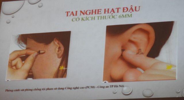 Tuyển sinh lớp 10 Hà Nội: Cảnh báo thiết bị chụp đề thi nhỏ như cúc áo - 1