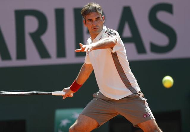 Roland Garros 2019: Federer thắng nhàn tại trận thứ 400 ở Grand Slam - 2