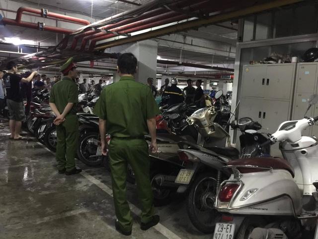 Hà Nội: Cả chung cư Hapulico náo loạn vì cháy cục wifi dưới tầng hầm - 2