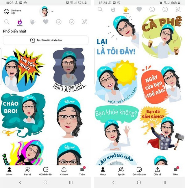 Thủ thuật biến gương mặt chính mình thành các sticker cực độc đáo và thú vị - Ảnh 4.