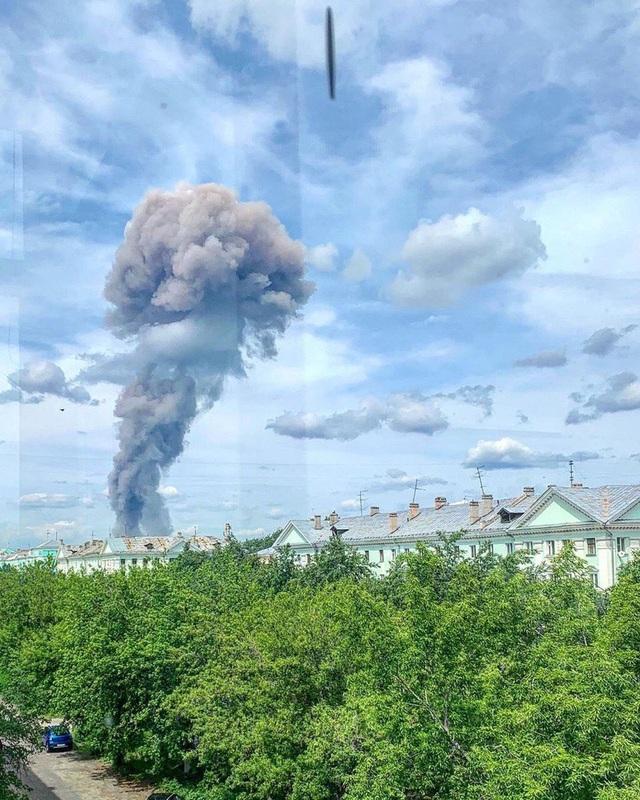 Nổ nhà máy thuốc nổ TNT tại Nga, 2 người mất tích, 39 người bị thương - 1