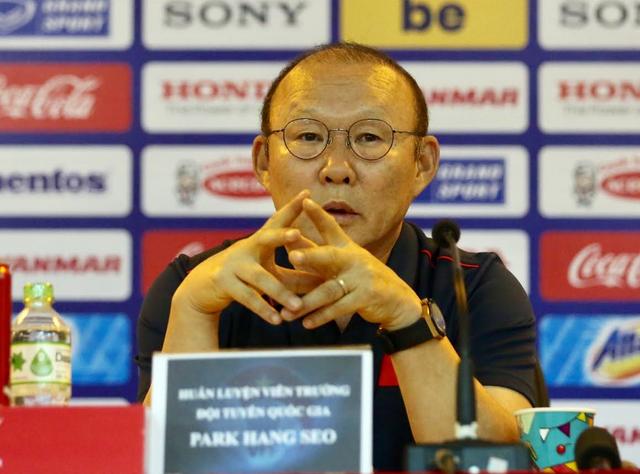"""HLV Park Hang Seo: """"Thái Lan không thừa nhận vị thế số 1 của bóng đá Việt Nam"""" - 1"""