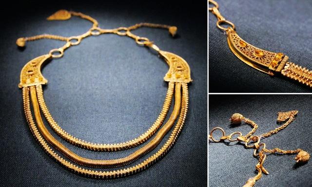 Tìm được dây chuyền vàng 800 năm tuổi trong xác tàu đắm Trung Quốc - 3