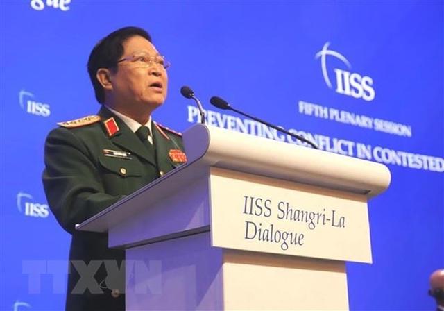 Bộ trưởng Quốc phòng Ngô Xuân Lịch nêu quan điểm giải quyết tranh chấp - 2