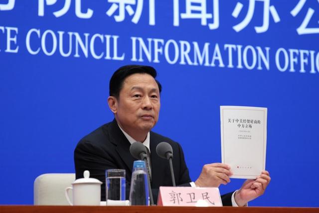 """Trung Quốc nói chiến tranh thương mại không """"làm nước Mỹ vĩ đại trở lại"""" - 1"""