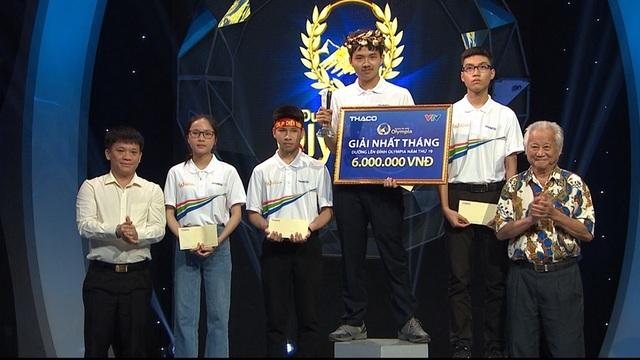Nam sinh chuyên Nguyễn Huệ lội ngược dòng, giành vé thi Quý Olympia - 2