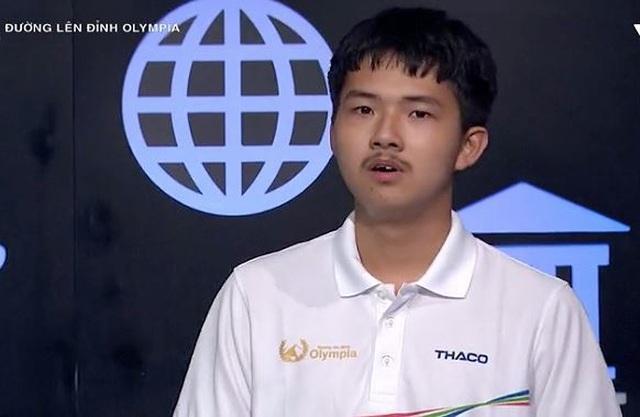 Nam sinh chuyên Nguyễn Huệ lội ngược dòng, giành vé thi Quý Olympia - 1