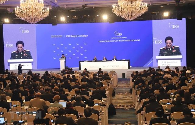 Bộ trưởng Quốc phòng Ngô Xuân Lịch nêu quan điểm giải quyết tranh chấp - 1
