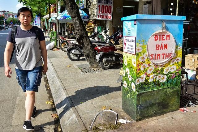 Gần 200 bốt điện ở Hà Nội biến hình đẹp như tranh - 13