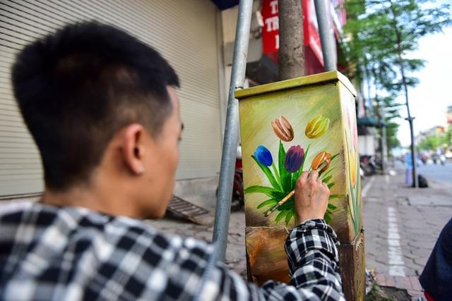 Gần 200 bốt điện ở Hà Nội biến hình đẹp như tranh - 5