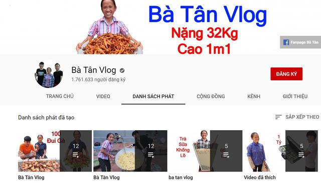 Ăn theo bà Tân, kênh YouTube ông già, bà già mọc lên như nấm - 1