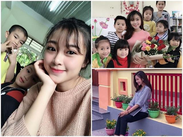 """Cô giáo mầm non tương lai xứ Nghệ bỗng """"nổi như cồn"""" vì xinh đẹp - 1"""