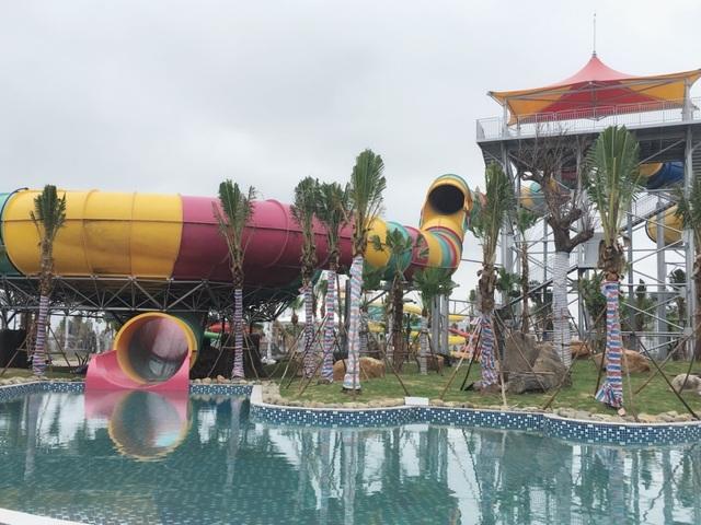 Ngày 10/6 Hà Nội:  Đưa công viên nước hiện đại nhất Thủ đô vào hoạt động - 4