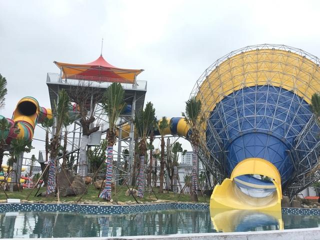 Ngày 10/6 Hà Nội:  Đưa công viên nước hiện đại nhất Thủ đô vào hoạt động - 6