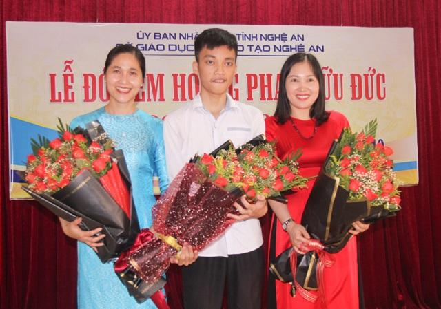 Nghệ An chào đón nam sinh đoạt HCB Olympic Tin học châu Á năm 2019 - 2