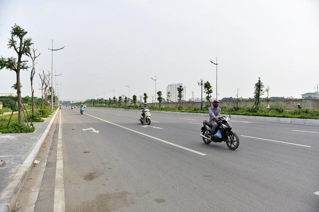 Đường 8 làn xe mới hoàn thành ở cửa ngõ Tây Bắc Hà Nội - 5