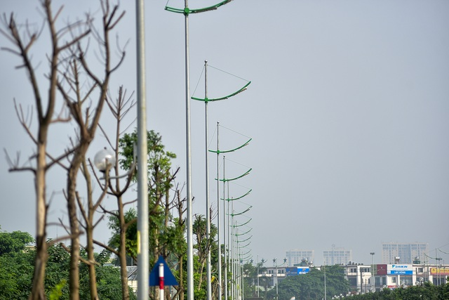 Đường 8 làn xe mới hoàn thành ở cửa ngõ Tây Bắc Hà Nội - 8