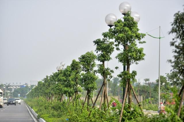 Đường 8 làn xe mới hoàn thành ở cửa ngõ Tây Bắc Hà Nội - 9
