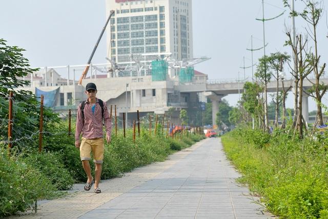 Đường 8 làn xe mới hoàn thành ở cửa ngõ Tây Bắc Hà Nội - 6