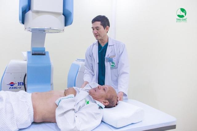 Hàng nghìn bệnh nhân tin tưởng tán sỏi không cần mổ tại Bệnh viện Thu Cúc - 3