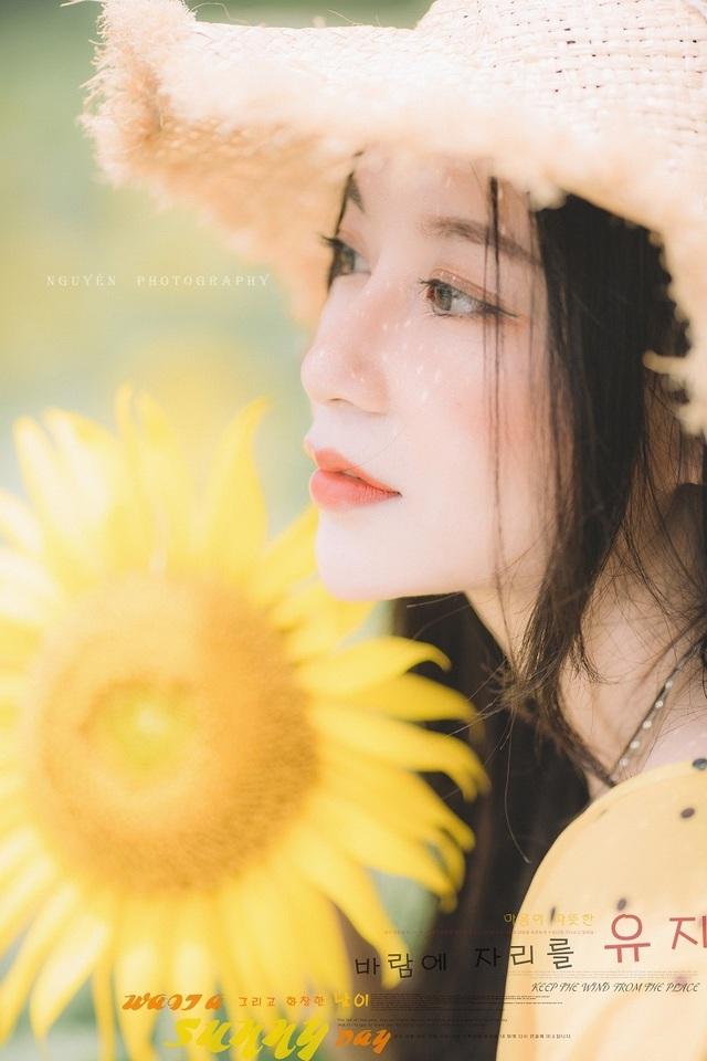 Hot girl ĐH Thương mại gây thương nhớ với bộ ảnh bên hoa hướng dương - 4
