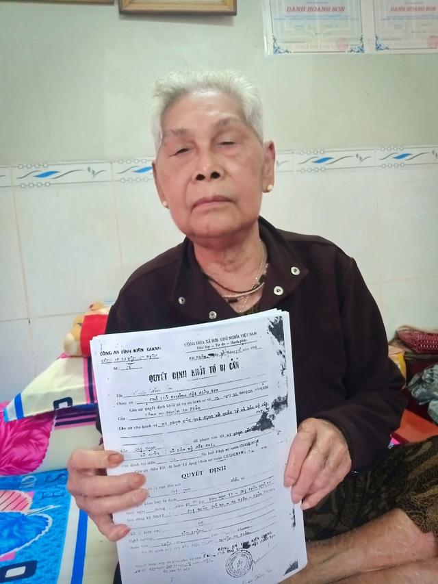 Cụ bà dành nửa đời người đi đòi đất nhờ cháu bế đến đối thoại với Thanh tra Chính phủ - 2