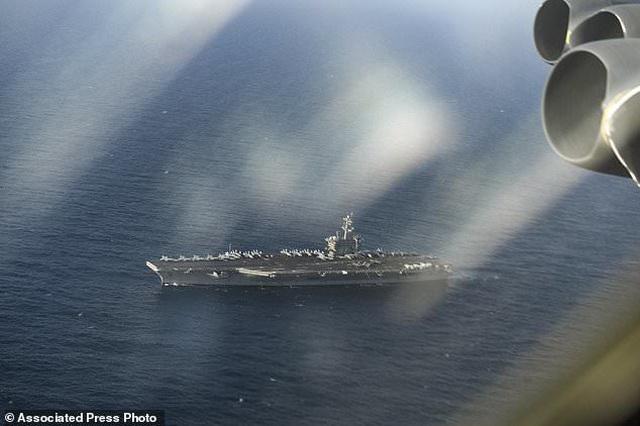 B-52, tàu sân bay Mỹ tập trận mô phỏng tấn công sát Iran - 4