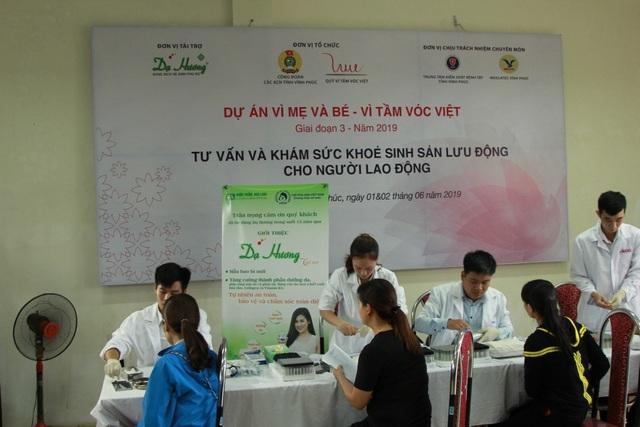 Khám sức khoẻ sinh sản miễn phí cho gần 1.000 Nữ công nhân - 1