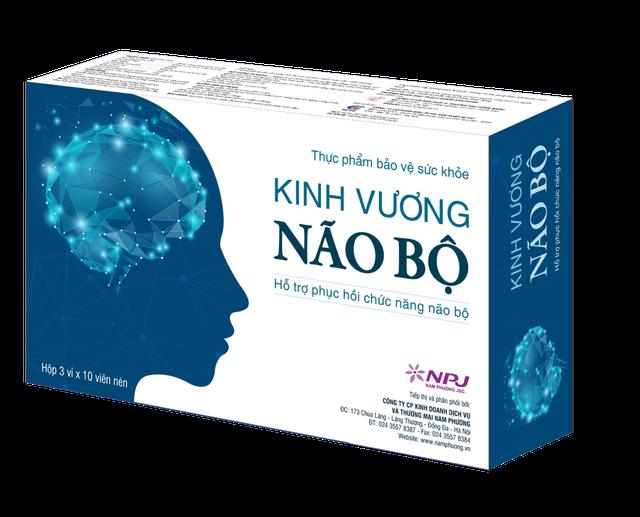 Tìm hiểu công dụng của thực phẩm bảo vệ sức khỏe Kinh Vương Não Bộ - 1