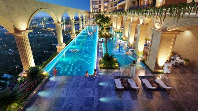 Trải nghiệm Resort 5 sao  vườn La Mã trên không tại Thủ Thiêm - 2