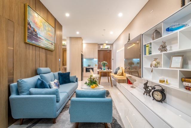 Khám phá căn hộ mẫu Safira: thiết kế thông minh, tiện nghi phù hợp cho mọi gia đình - 1