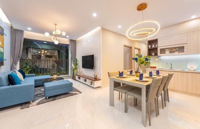 Khám phá căn hộ mẫu Safira: thiết kế thông minh, tiện nghi phù hợp cho mọi gia đình - 2