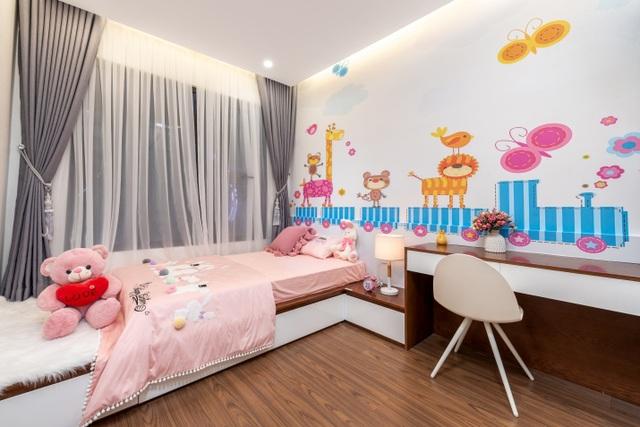 Khám phá căn hộ mẫu Safira: thiết kế thông minh, tiện nghi phù hợp cho mọi gia đình - 4