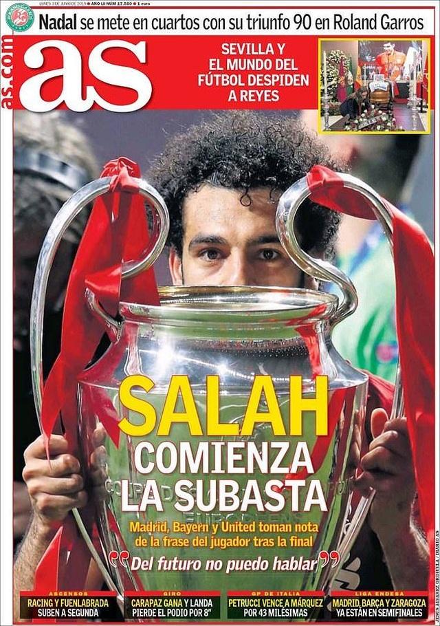 Nhật ký chuyển nhượng ngày 3/6: Salah được định giá 180 triệu bảng - 1