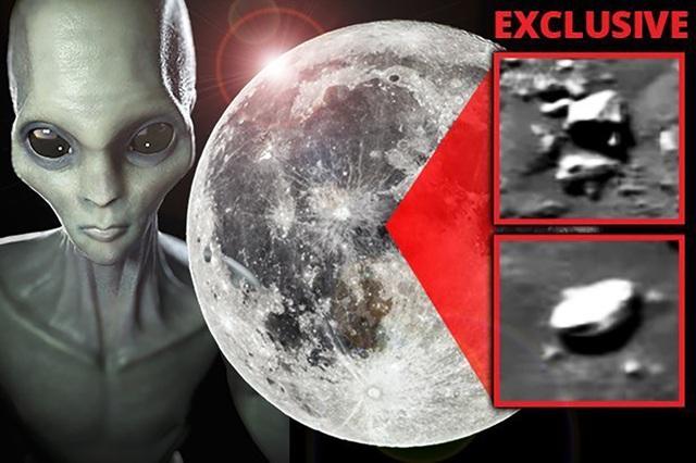 Phát hiện máy bay chiến đấu của người ngoài hành tinh trên Mặt Trăng? - 1