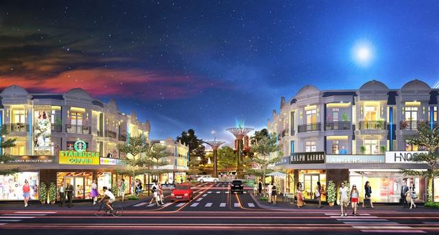 Ra mắt nhà phố thương mại Uni Mall Center tại Thuận An - 1