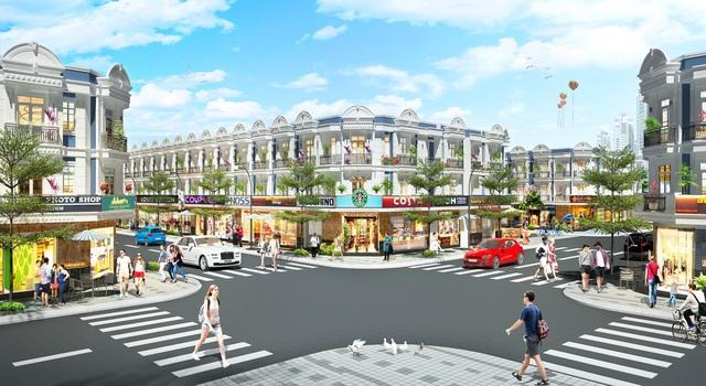 Ra mắt nhà phố thương mại Uni Mall Center tại Thuận An - 2