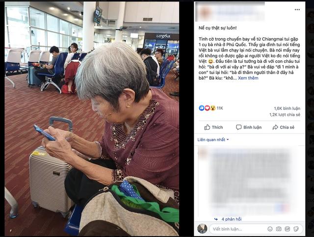 Bà cụ Việt 76 tuổi gây sốt cộng đồng mạng khi đi du lịch bụi một mình - 1