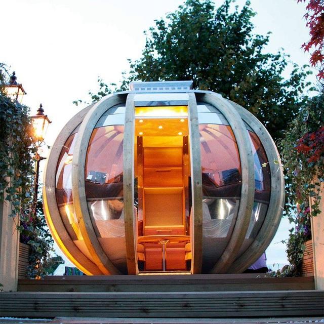 Xóa tan oi bức với 10 ý tưởng nhà trong vườn độc đáo - 1